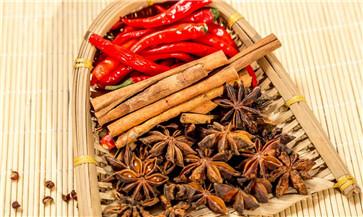 调味料主要有五类单一植物调味料