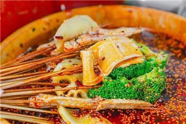冷锅串串菜品